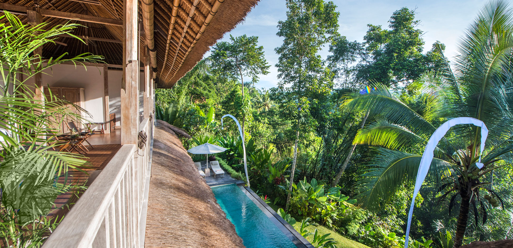 ubud private villa rental